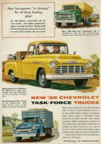 1956 Chevy Trucks
