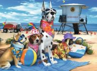 RAVENSBURGER - NO DOGS ON THE BEACH