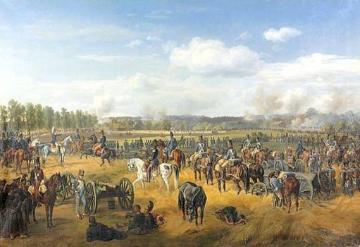 Battle of Ostrovno in 1812, 1845 by Albrecht, Adam