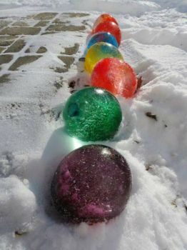 Make Your Own Ice Marbles