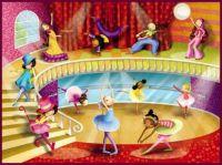Dance Studio Ballerina