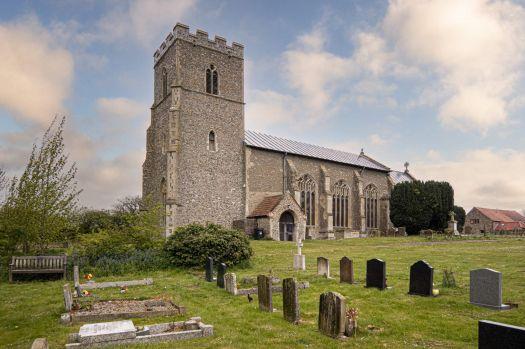 St. Andrew's Church, Field Dalling, Norfolk, UK
