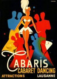 Poster for Cabaris Cabaret Dancing