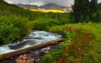 Beautiful-scenery-and-mountainous-river