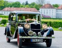 Sophie's wedding carriage