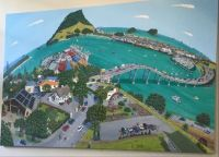 Painting on Clinic Wall of Mount Maunganui