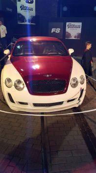 Too fast Bentley