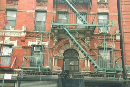 fire escapes tenement museum New York