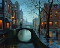 Rainy Evening by Eugene Lushpin