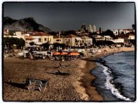 Stoupa town beach, Greece
