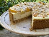 Peach Cobbler Cheesecake