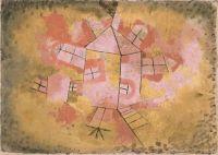Paul Klee: La casa giratoria, 1921,
