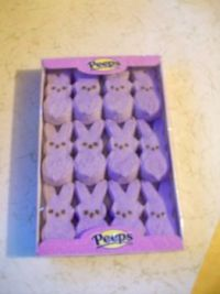 Purple Peeps for SMor, Foxy and Puzzaddled ;-)))