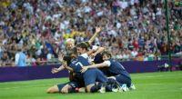 US Women's Soccer Team wins Olympic Gold