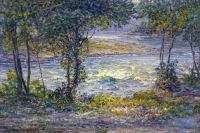 John Ottis Adams - Morning on the Whitewater, 1902-11