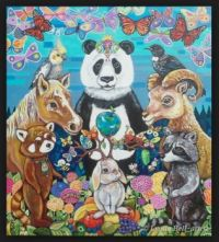 By artist Lynda Bell