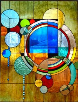 Stained Glass Mosaic Circles