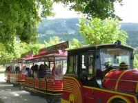 vláček u jezera Mondsee/ train at Mondsee