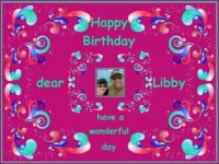 Happy Birthday dear Libby (LibR1)