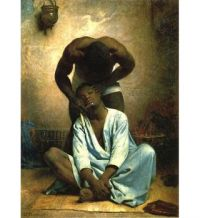 Léon Joseph Florentin Bonnat, The Barber of Suez (1876)