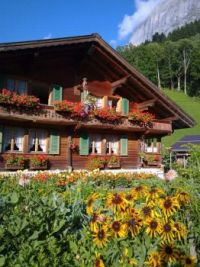 Chalet in Bernese Oberland, Switzerland
