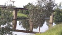 Rail bridge into Sale, Victoria