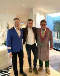 The producer, star and subject of Rocketman.