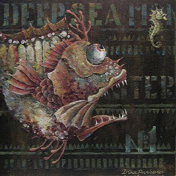 Steampunk Fish -Irina Pankevich, Artist