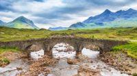The Old Bridge at Sligachan, Isle Of Skye, Scotland