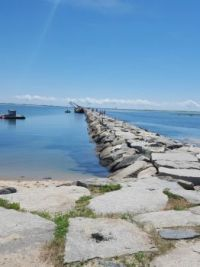Cape Code Stone Walkway