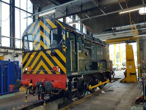 Shunter in the Shed