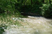 The river in Ellijay, Georgia