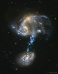 Arp 194: Merging Galaxy Group