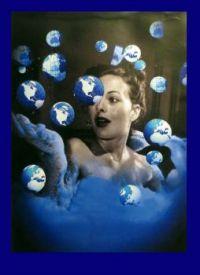 """""""bubble"""" bath"""