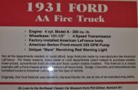 1931 Ford AA Fire Truck  01