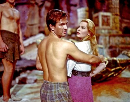 JOURNEY TO THE CENTRE OF THE EARTH  1959 - PAT BOONE,  ARLENE DAHL & PETER RONSON
