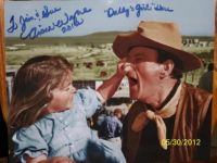Aissa and John Wayne