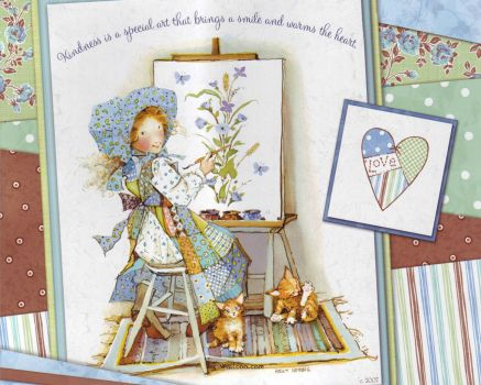 Holly Hobbie and kindness