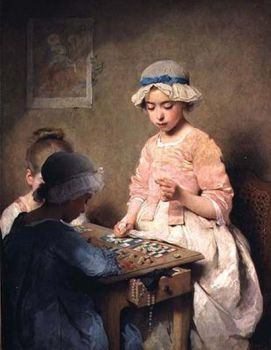 Game of Lotto by Charles Chaplin