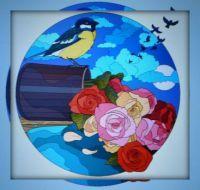 Birds in flight . . . . .