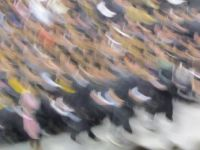 The blur of graduation!