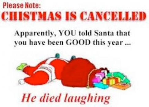 Cancelled Xmas