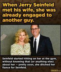 15 Weird Ways Celeb Couples Met - (Seinfeld)