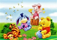 """Baby Pooh Bear Adventures"""
