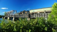 Train Crossing River