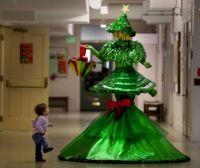 Cristmas Tree Dress