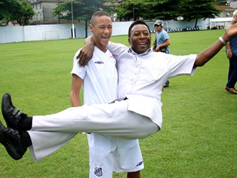 Neymar and Pele ... the Heir??