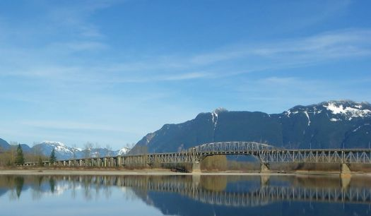 Agassiz Rosedale Bridge