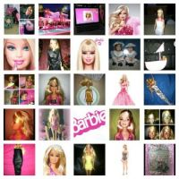 barbie-collage