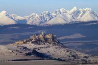 Spišský hrad_zima